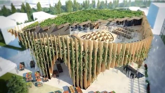 Stands Expo Universelle Milan : Le pavillon de la france à l exposition universelle