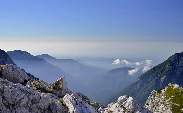 OFIS refuge Slovénie