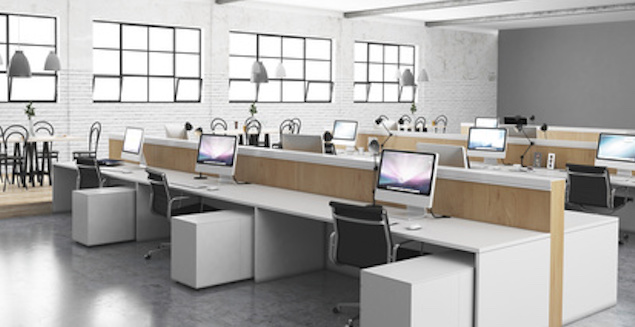 Open space is it really the best solution archibat mag for Office furniture layout planner
