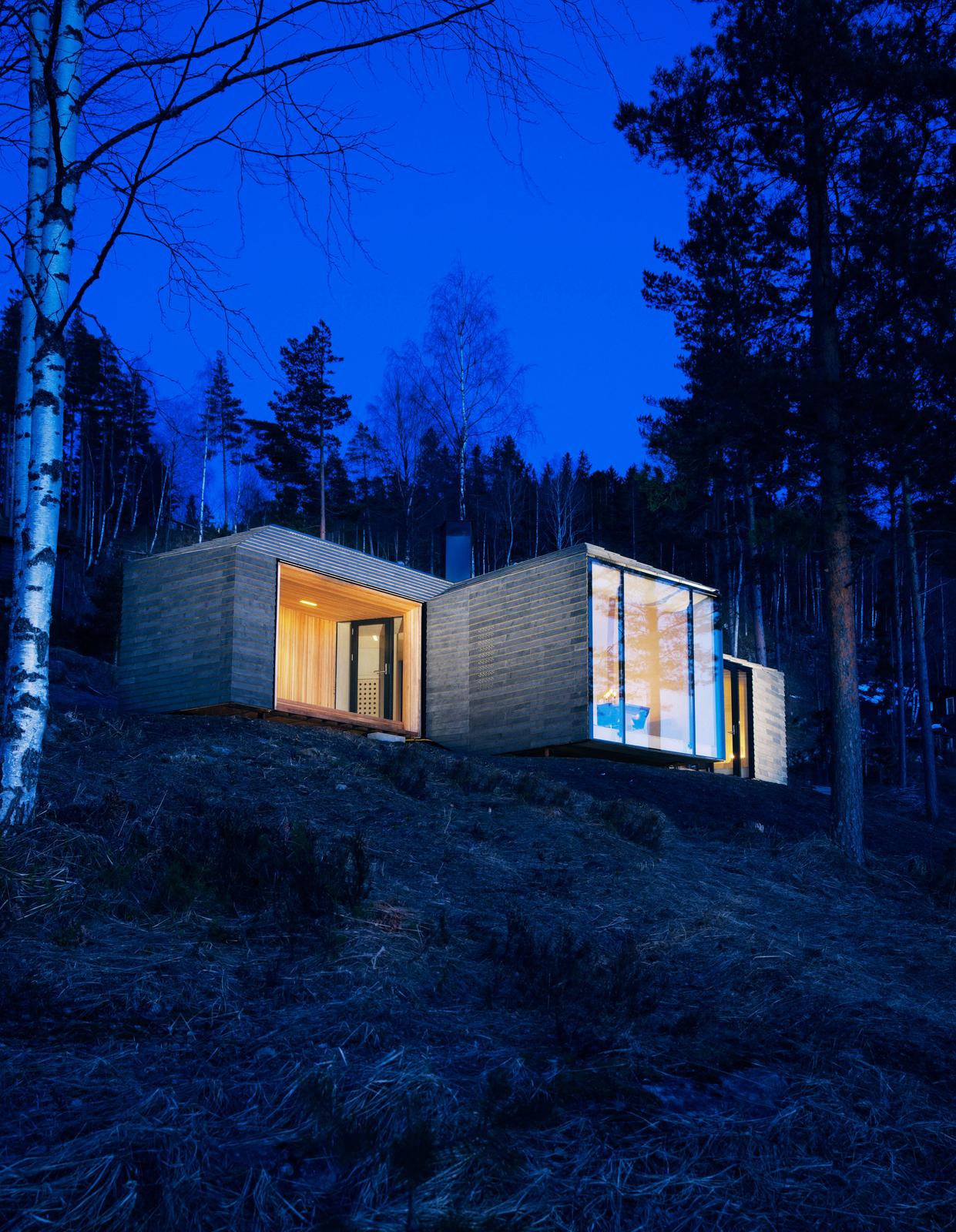 Scandinavian Small House Design: Scandinavian Cabins' Comfort And Minimalism