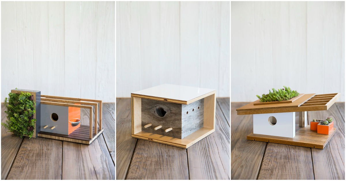 Birdhouses Inspired By Famous Architecture Archibat Mag