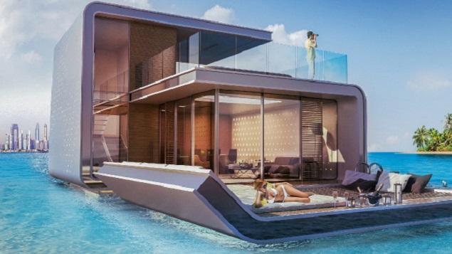 le floating seahorse la maison sous l 39 eau du groupe kleindienst archibat mag. Black Bedroom Furniture Sets. Home Design Ideas