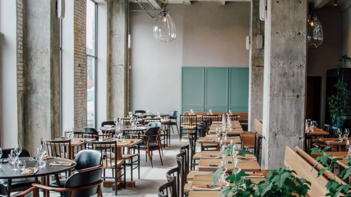 Restaurant 108 Is Located Inside An Old Industrial Warehouse In The Danish  Capital. Although The Scandinavian Style Is Clearly Dominant, The Choice To  Keep ...