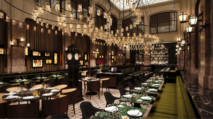 This Baroque Style Viennese Café Restaurant Is Located In The New Five Star  W Amsterdam Hotel. The Designer Baranowitz Kronenberg Decided To Fully  Exploit ...