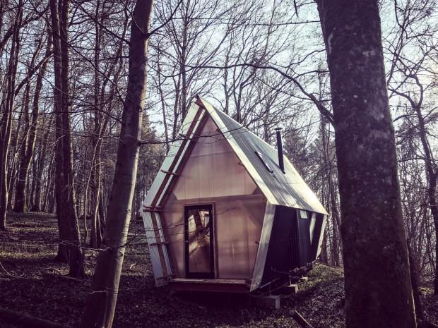 une micro habitation mobile archibat mag. Black Bedroom Furniture Sets. Home Design Ideas