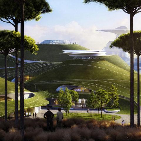 The futuristic campus at Quzhou – ArchiBat Mag
